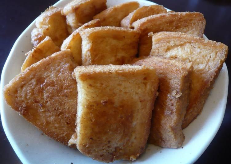Easy! Kinako French Toast