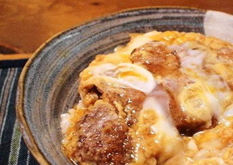 Recipe of Perfect Pork Cutlet Rice Bowl