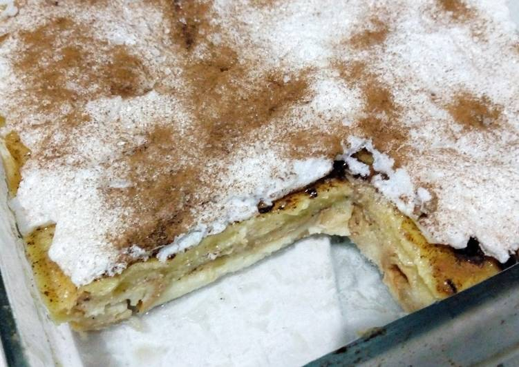 Coco Custard Bread Pudding