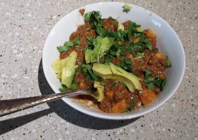 Sweet Potato Chili (Whole30)