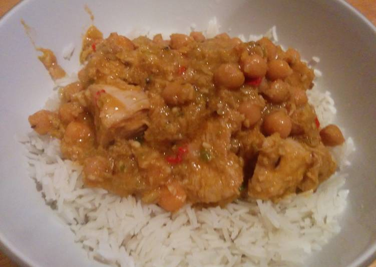 Spicy Chicken Korma