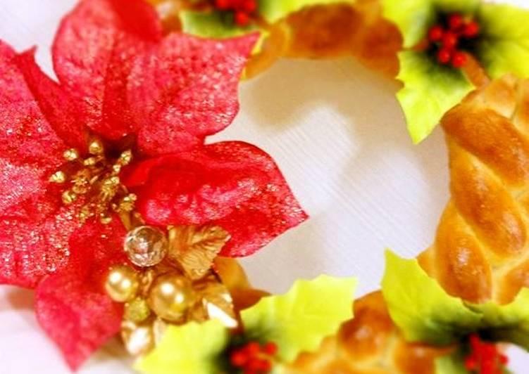 How to Make Tasty Christmas Bread Wreath