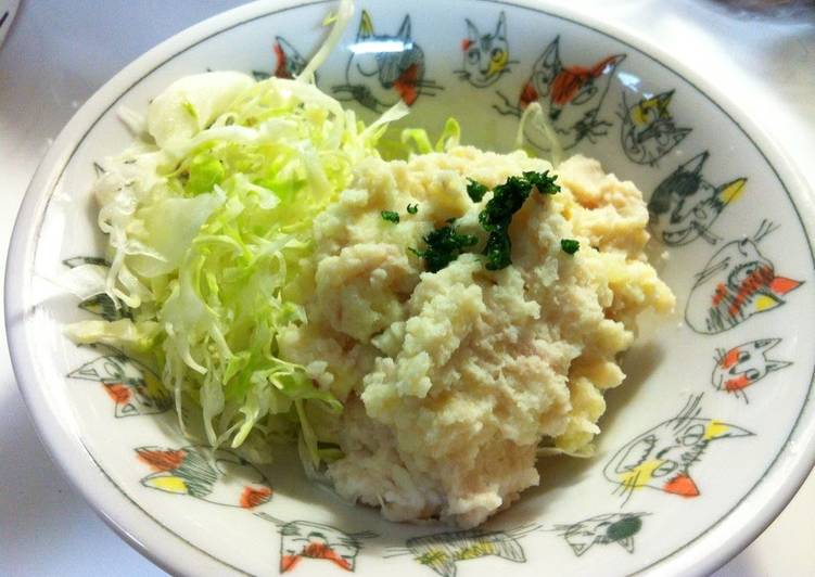 Potato Salad with Rhubarb