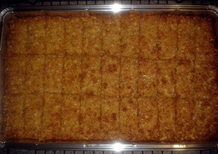 Simple Way to Prepare Most Popular Flapjack