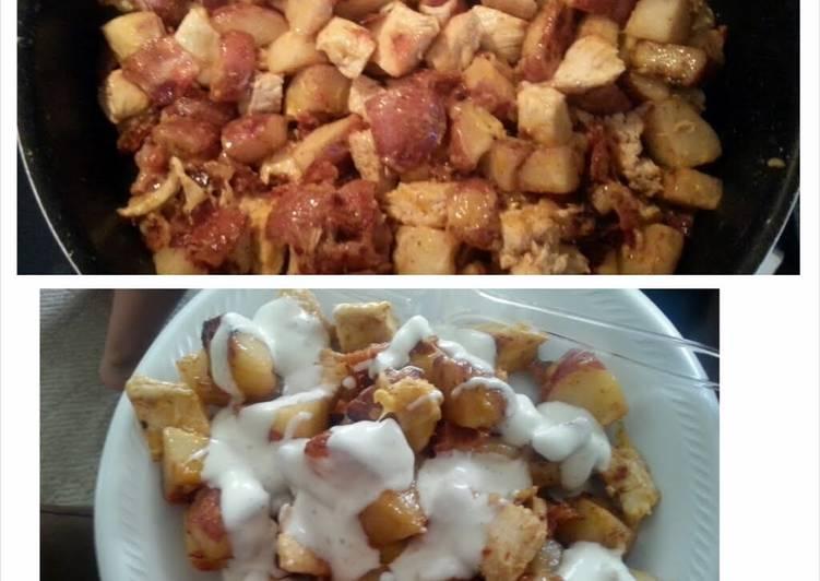 How to Cook No-Bake Loaded Potato Casserole