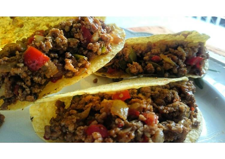 Simple Way to Make Homemade Spicy tacos