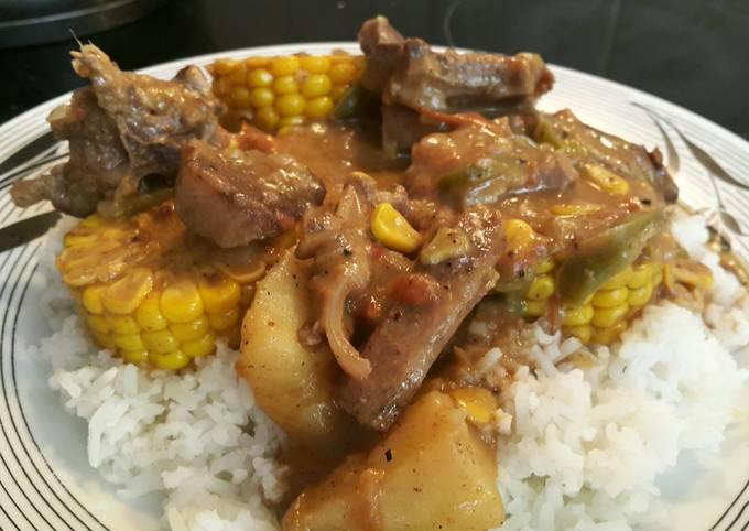Peasant's lamb stew