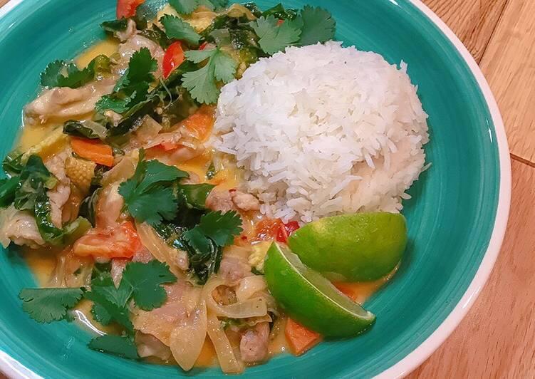 Red Thai Curry 🌴🥥 #seasonsupply #glutenfree
