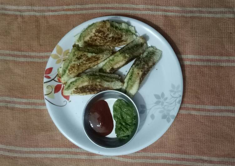 Simple Way to Prepare Ultimate Pan Grilled Potato Sandwich