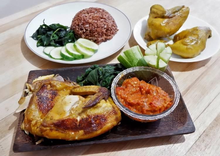 Ayam Gepuk & Sambal Lalapan