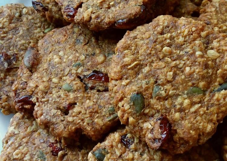 Vickys Autumn Harvest Cookies, GF DF EF SF NF