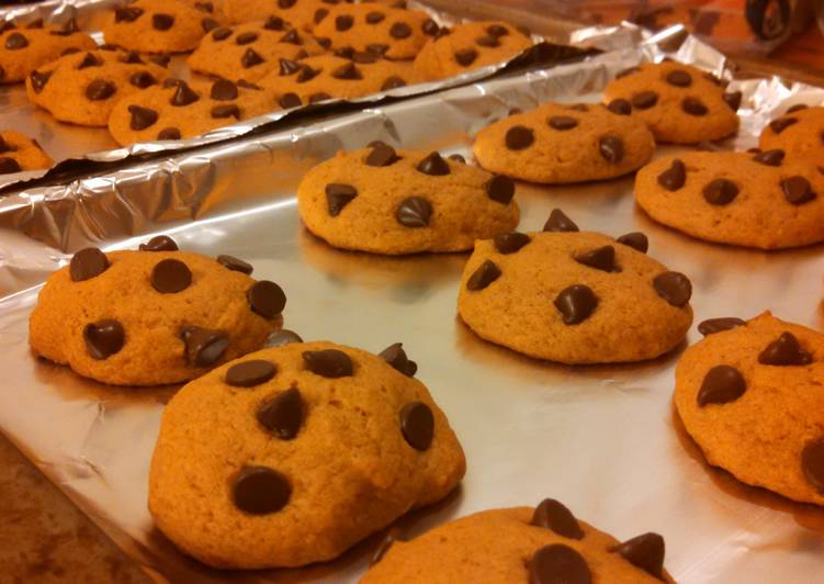 Easiest Way to Make Tasty Best Pumpkin Chocolate Chip Cookies