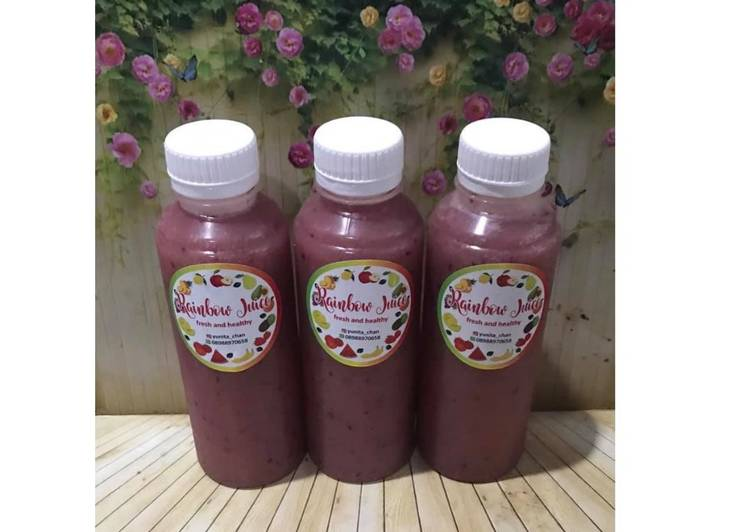 Diet Juice Golde Melon Cranberry Strawberry Jambu Kristal Grape