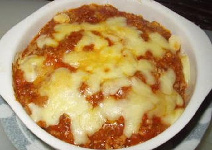 Gyoza Wrapper Lasagna