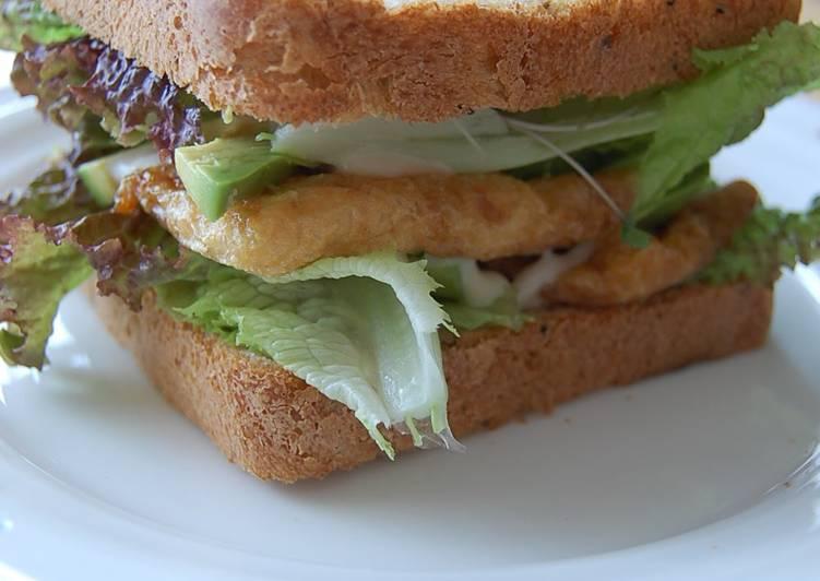 Recipe: Appetizing Teriyaki Veggy Sandwich