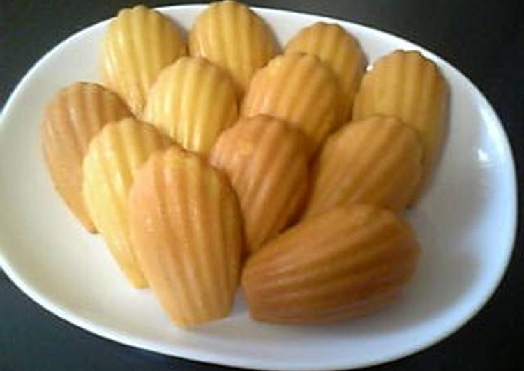 How to Make Homemade Simple and Delicious Madeleine