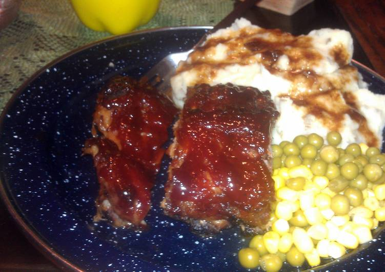 Recipe: Delicious georges awesome barbecue baby back ribs