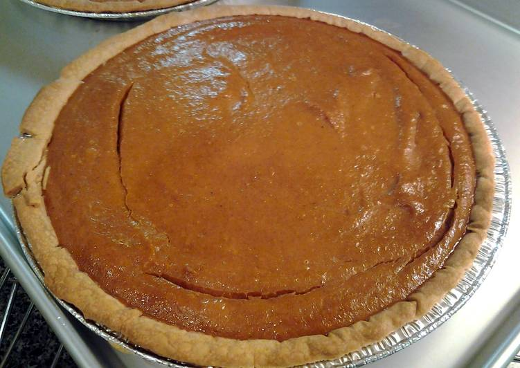 Recipe: Yummy Low fat pumpkin pie