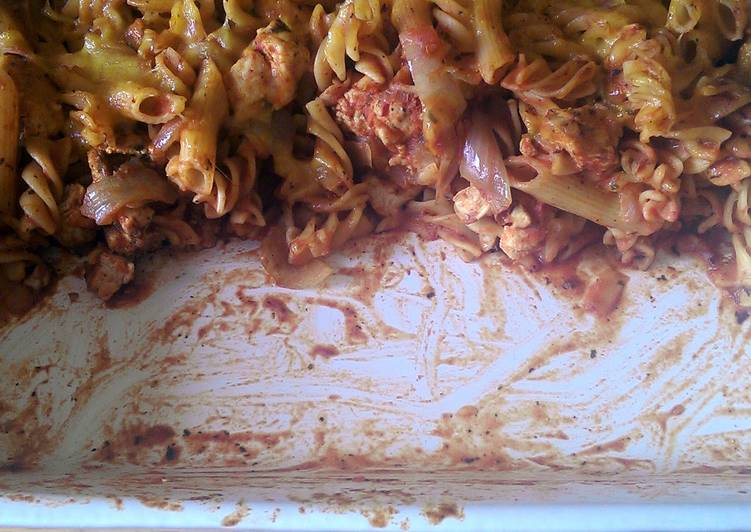 Mandys chicken pasta bake