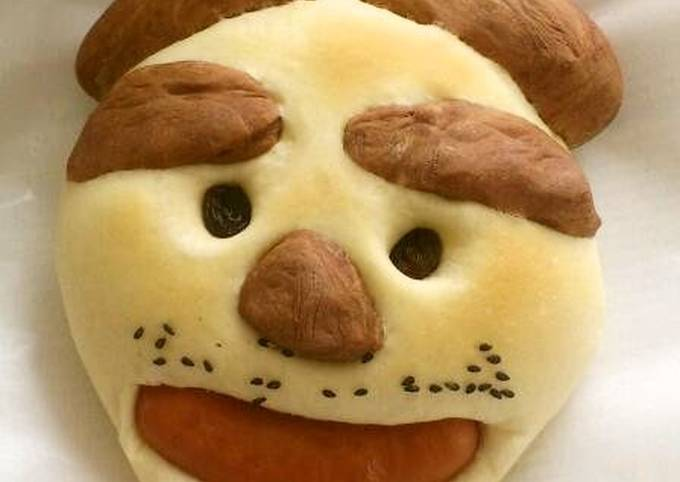 Easiest Way to Make Delicious Creative Face Bread