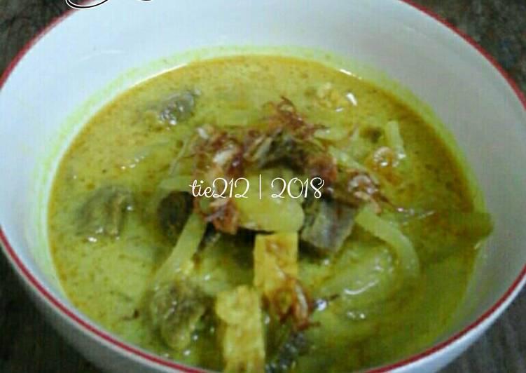 Gulai Daging Labu Siam
