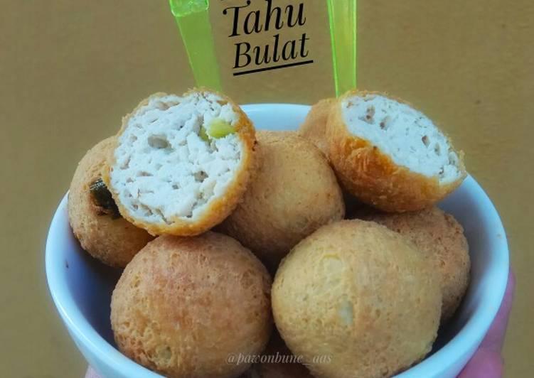 Tahu Bulat (tanpa telor & baking powder)