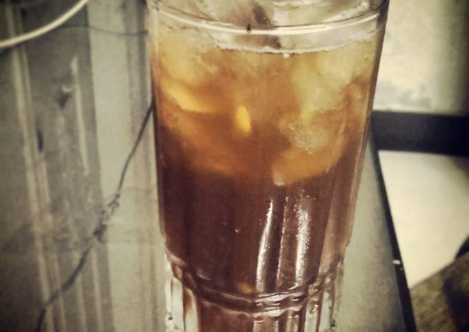 Portuguese Mazagran - Coffee Lemonade