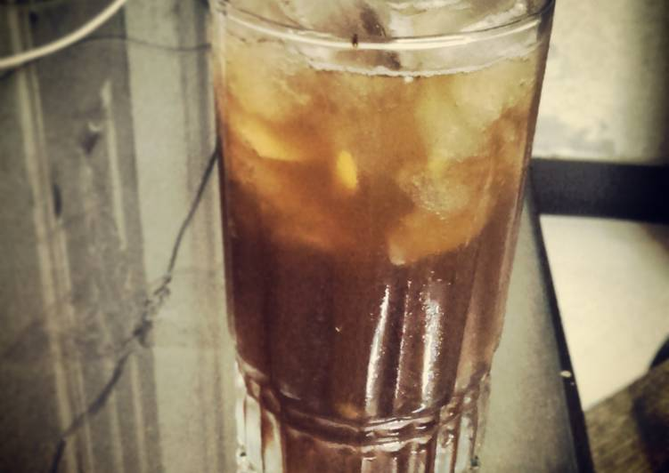 Portuguese Mazagran - Coffee Lemonade
