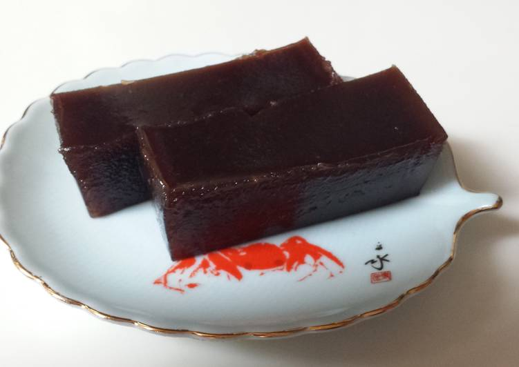 Simple Way to Make Award-winning Kaki (Persimmon) Yokan