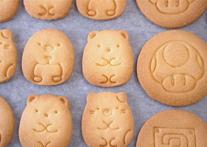 How to Cook Yummy Basic butter cookies (Cut-Out Cookies, Stamped Cookies)