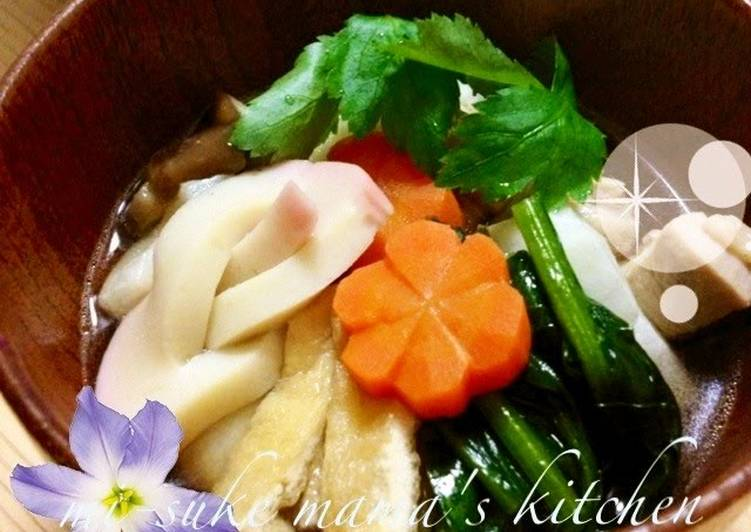 30+ Dinner Ideas Homemade My Family's New Year's Zouni With Baked Mochi