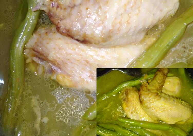 Sayur Buncis Ayam