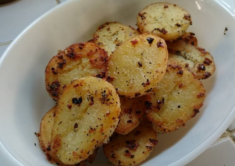 Cumin Pan Seared Potatoes