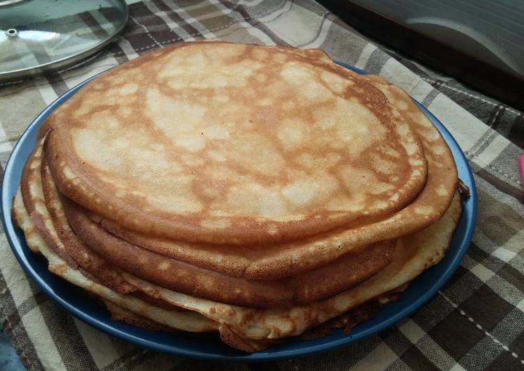Easiest Way to Prepare Favorite Perfect Blinches (Crepes)
