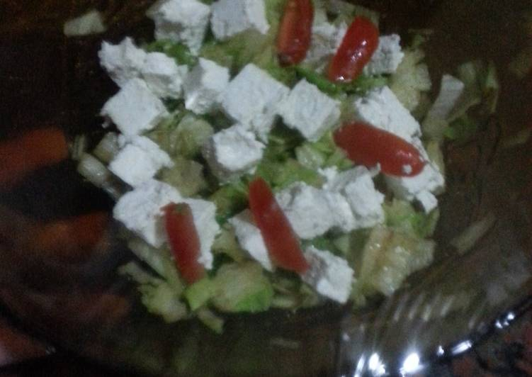 HCG diet meal 8: Greek salad style