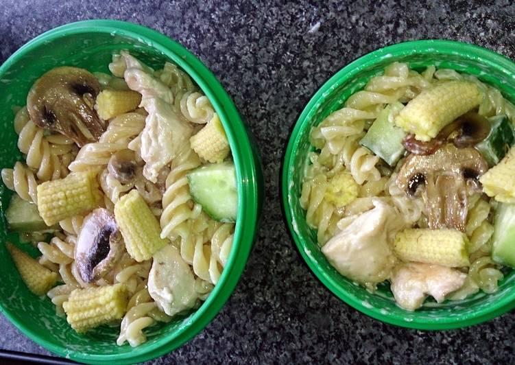 children's chicken pasta pots