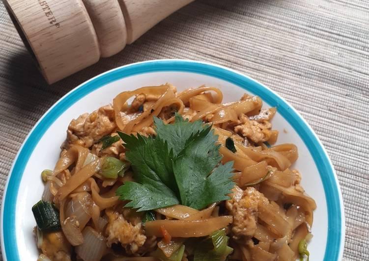 Kwetiau Goreng Ala Chinese Food