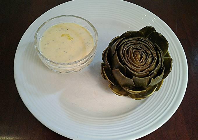 Recipe: Perfect Fresh Artichokes, Preparing and Serving