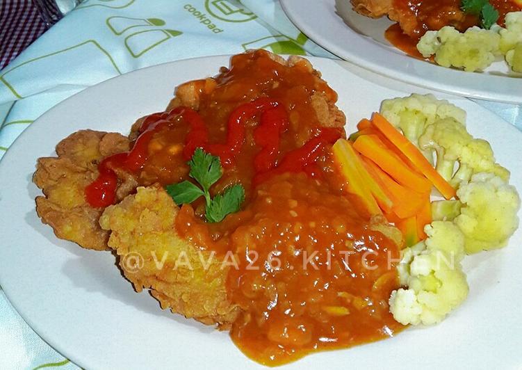 Steak Ayam | Homemade