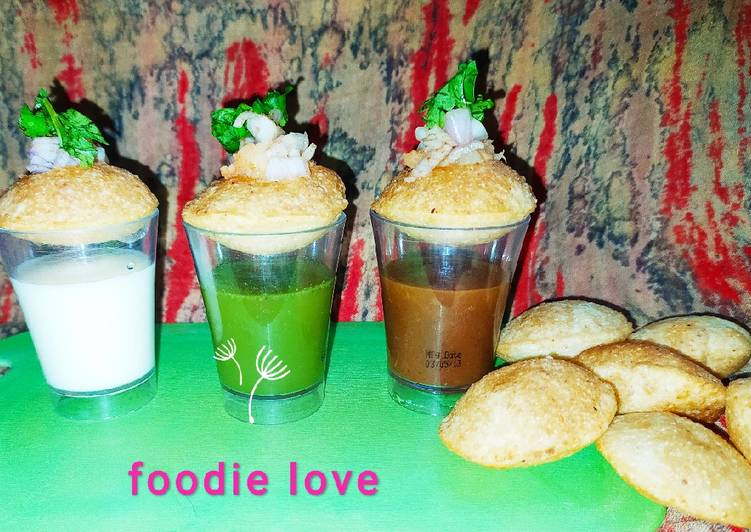 Going Green for Good Health By Dining Superfoods Golgappa shots cocktail