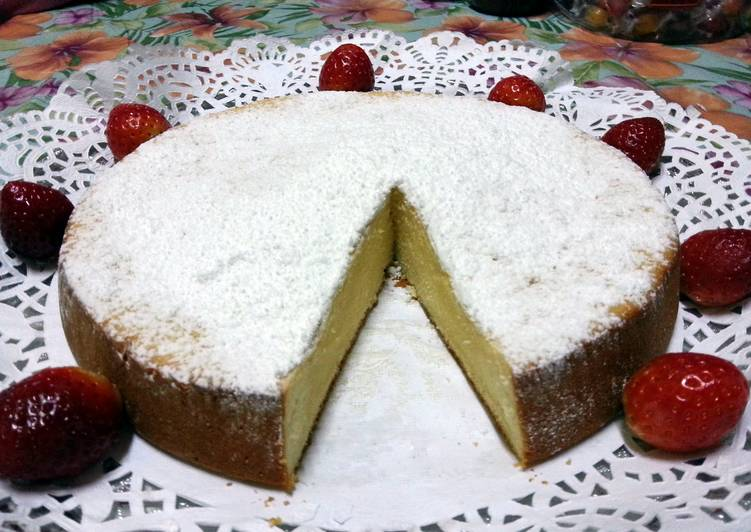 Condensed Milk Cake .  Recipe from dr Ola's kitchen