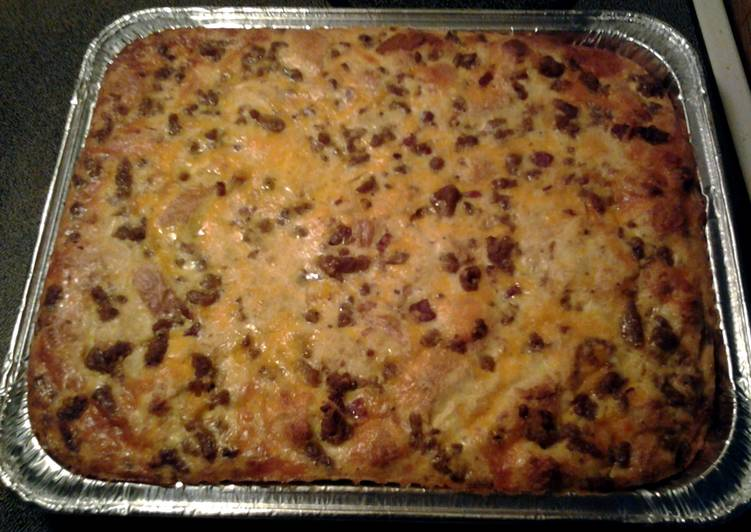 Steps to Prepare Award-winning easy breakfast casserole