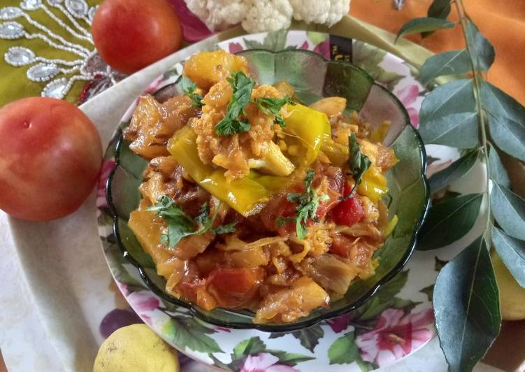 Living Greener for Better Health By Eating Superfoods, Pickled cauliflower curry