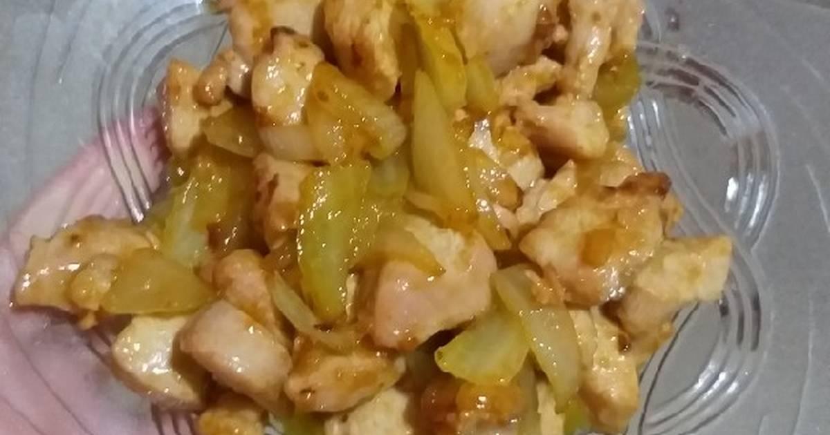 resep aneka olahan ayam enak  sederhana cookpad Resepi Kentang Goreng Kunyit Enak dan Mudah