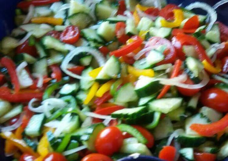 Recipe of Perfect Healthy Green Salad