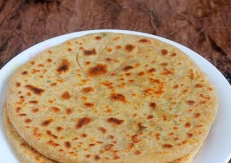 Cheakpea/chana dal paratha