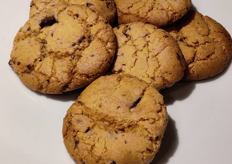 Recipe: Yummy Vegan chocolate chip cookies