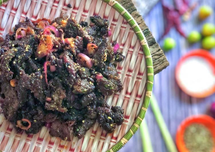 Daging Goreng Ketumbar Ala Thai