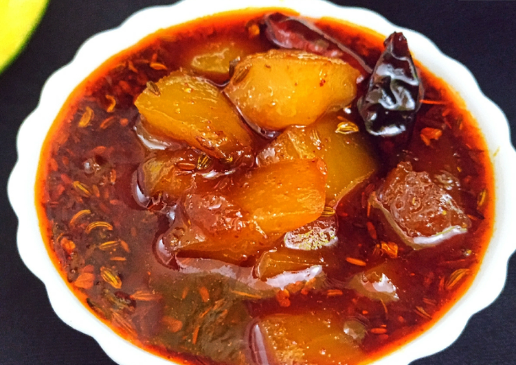 Recipe of Favorite Sweet and sour raw mango curry