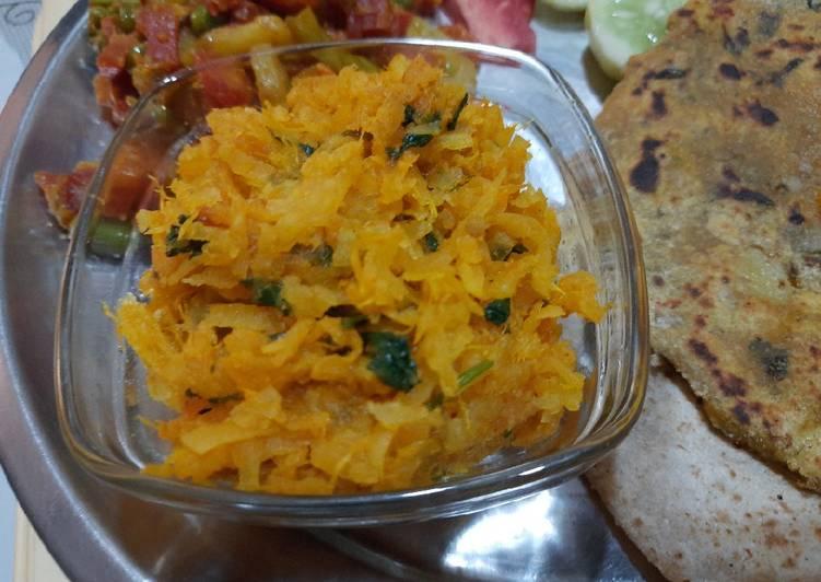 Recipe of Homemade Mooli ki sabji